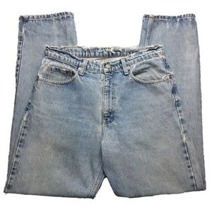 Vintage Polo Men's Well Worn Relaxed Jeans 32x32